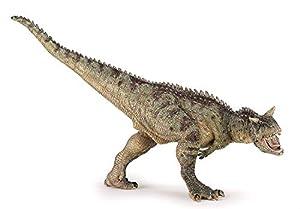 Papo- Figura Dinosaurio Carnotaurus 19X8X13CM, Multicolor (2055032)