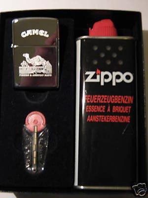 Zippo Feuerzeug Camel Turkish Geschenk-Set