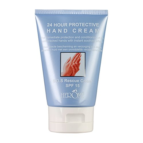 Herôme Cosmetics 24 Hours Protective Hand Cream, 1er Pack (1 x 115 g)