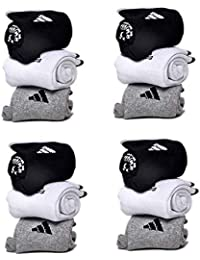 JILOWA Unisex Cotton Combo Of 12 Ankle Socks (Multicolor_Free Size)