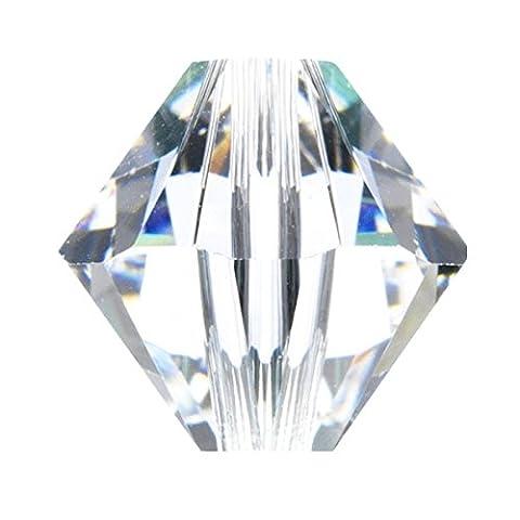 Swarovski 5328 - 6mm Xilion Bicone Bead - Crystal -