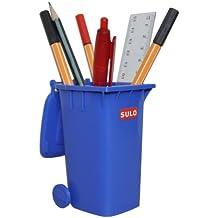 SULO Mini Müllbehälter Mini Mülltonne 120L blau ***Tischmülleimer***Stiftehalter***Mini Müllcontainer***