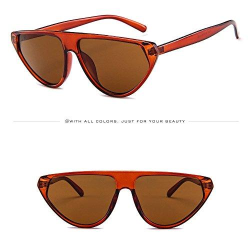 WUDUBE_Sonnenbrille im europäischen und amerikanischen Stil, Unisex Dampfwellen-Punk-Cat-Eye-Brillen