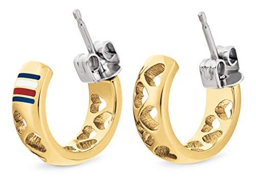 Tommy Hilfiger Jewelry Damen Creole Edelstahl - 2701085
