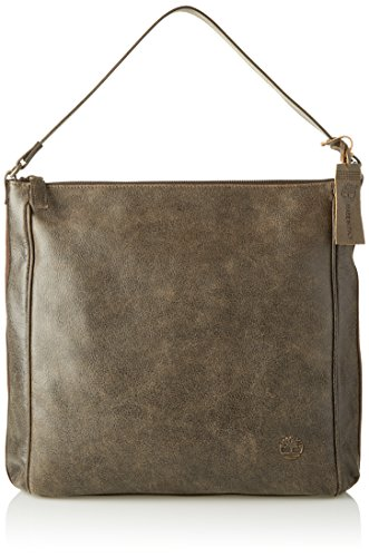 Timberland Damen Tb0m5502 Schultertasche, 11 x 37 x 34 cm Braun (Chocolate Brown)