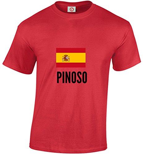 T-shirt Pinoso city rossa