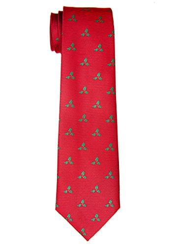 Feuilles de houx de Noël Retreez tissé en microfibre de Garçon de–8–10ans red