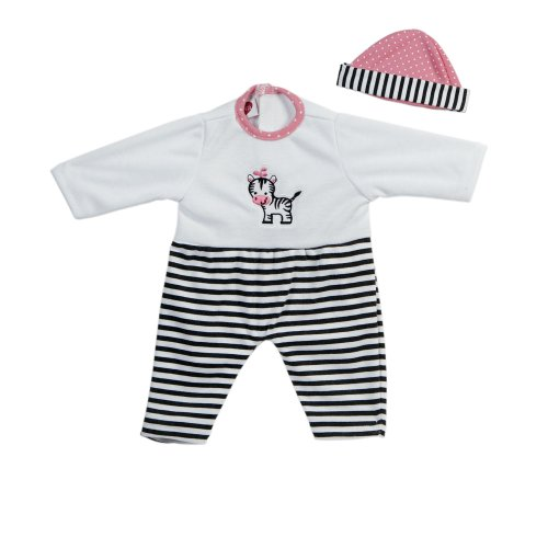 Adora Giggle Time Baby Doll Zebra Stripes Outfit (Outfit Doll Adora)