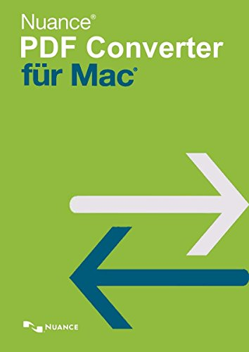 Nuance PDF Converter for MAC (OS X 10.10|11|12) 1 Gerät EFS PKC - Software-download Nuance