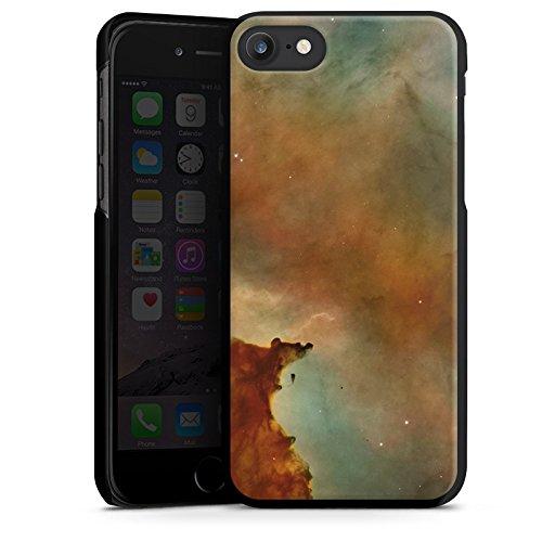 Apple iPhone X Silikon Hülle Case Schutzhülle Galaxy Carina Nebel Muster Hard Case schwarz