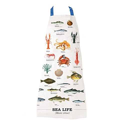 Gift Republic Tablier Sea Life, multicolore