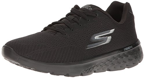 Skechers Go Run 400-Sole, Scarpe Running Donna Nero (Black)