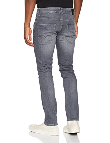 BOSS Orange Herren Straight Jeans Grau (Charcoal 010)