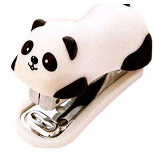 NiceButy Panda Mini escritorio grapadora mano oficina/casa