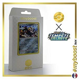 Heatran 98/168 Holo - #myboost X Soleil & Lune 7 Tempête Céleste - Box de 10 Cartas Pokémon Francés