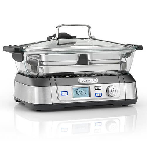 Cuisinart Professional Glass Steamer | 5L Capacity | Stainless Steel | STM1000U