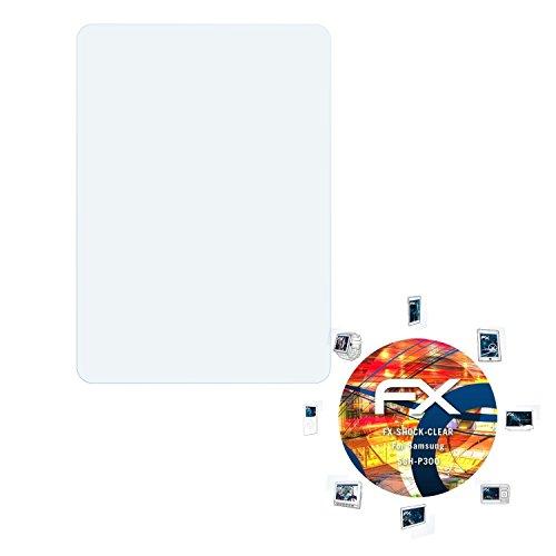 Samsung SGH-P300 Folie - 3 x atFoliX FX-Shock-Clear stoßabsorbierende ultraklare Panzerfolie Displayschutzfolie
