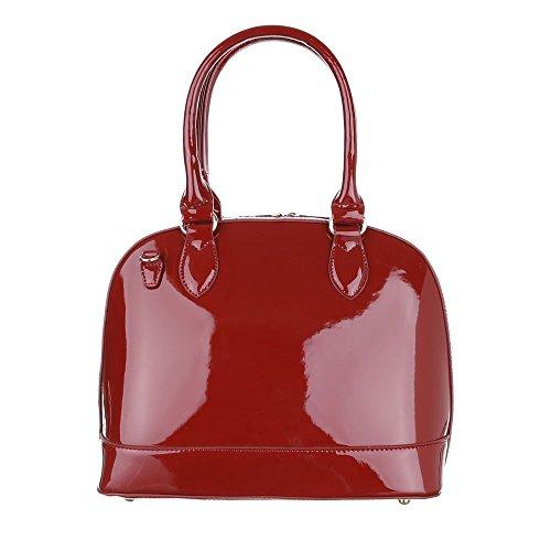 Ital-DesignSchultertasche Bei Ital-design - Borsa a spalla Donna rosso vivo