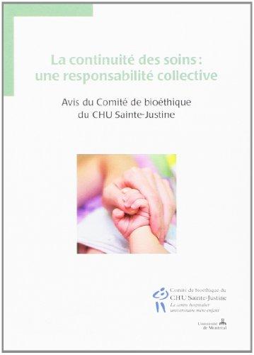 La continuité des soins une responsabilité collective