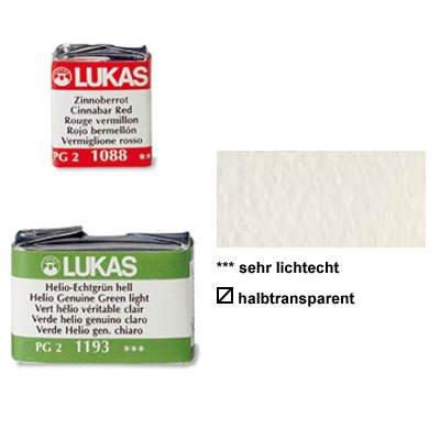 Lukas Aquarellfarbe 1862, 1-2 Näpfchen Chin. Weiß [Spielzeug]