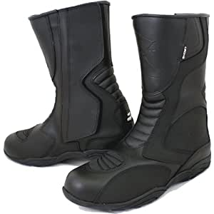Ghost Stealth Motorcycle Boots 8 Black