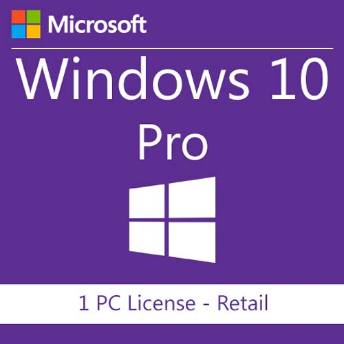 Microsoft Windows 10 Pro - Sistemas operativos (Electronic Software  Download (ESD), 1 licencia(s), 20 GB, 2 GB, 1 GHz, 800 x 600 Pixeles)