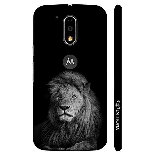 Enthopia Designer Hardshell Case King better than Kong Back Cover for Motorola Moto G4, Moto G4 Plus