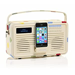 View Quest ColourGen DAB/DAB+ - Radio FM con altoparlante, in stile retro