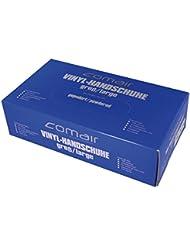 Comair 3012330 Vinyl Handschuhe gepudert, groß, 100 stück Box