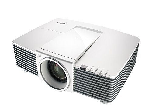vivitek DH3331, vielseitiger 1080p Installations-Projektor, 1,7x Zoom, 5000 ANSI Lumen, Kontrastverhältnis 10.000:1, Auflösung 1920x1080 Pixel, HDMI/MHL Verbindungsmöglichkeiten, - Led-projektor-1080p-epson