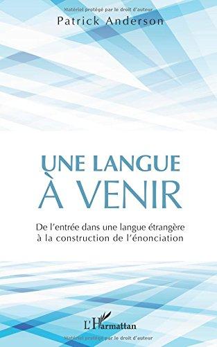 Une langue à venir