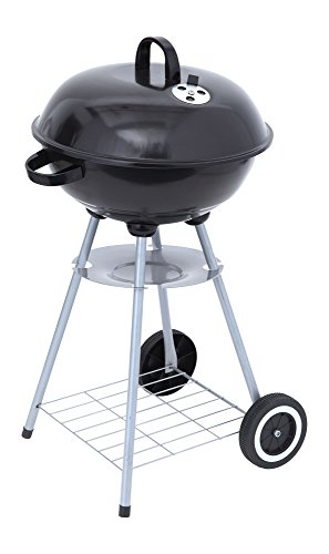 Tepro Key West Parrilla Tetera Carbón Vegetal Negro