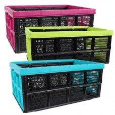 1-3 Klappbox 32 Liter 51 x 34 x 23 cm (Farbe und Menge frei wählbar) – Made in Europe