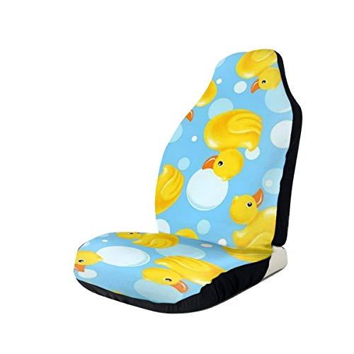 Huabuqi Yellow Duck Absorb Universal Fit Sitzbezug - Black Duck Auto Sitzbezüge