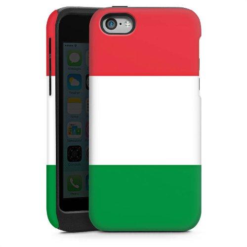 Apple iPhone 5s Housse Étui Protection Coque Italie Italie Drapeau Cas Tough brillant