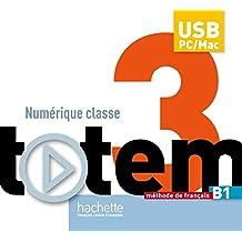 Totem: Niveau 3 Manuel Numerique Enseignant (Cle USB)