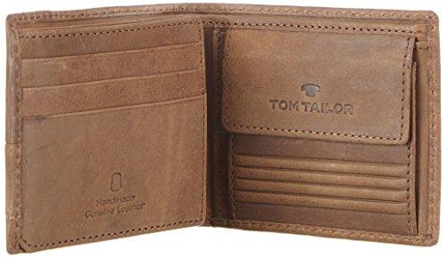 Tom Tailor Acc LUCA 17303 Herren Geldbörsen 11x8x2 cm (B x H x T) Braun (braun 29)