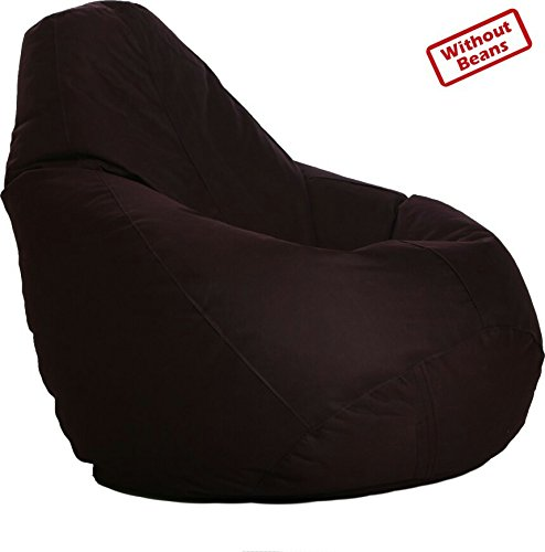 VSK BEAN BAG COVER XXXL i BROWN (WITHOUT BEAN) ORIGINAL SIZE WITH ORIGINAL QUALITY  available at amazon for Rs.599