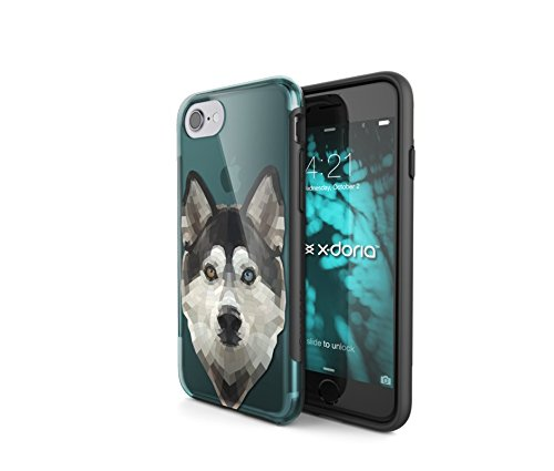 X-Doria 449601 Revel Gehäuse Apple iPhone 7 chrom-silber Husky