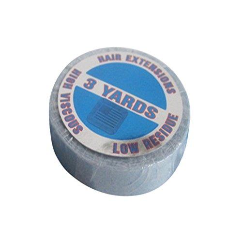 remeehi 3Yard Tape Wasserdicht doppelseitig Supertape Hair Extensions Tape Haar Kleber Rolle Klebeband (Extensions Kleber Hair Für)