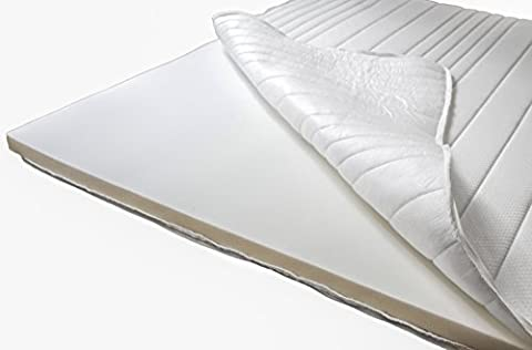 Basic Topper 180x200 cm - Einführungspreis - Weiche & anpassungsfähige Matratzenauflage - Auch für Boxspringbetten geeignet - Made in