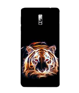 3D instyler DIGITAL PRINTED BACK COVER FOR ONE PLUS TWO