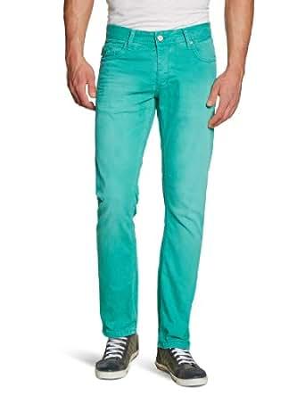 JACK & JONES Herren Jeans Skinny Normaler Bund TIM ORIGINAL, Grün (Porcelain Green), 29W / 32L