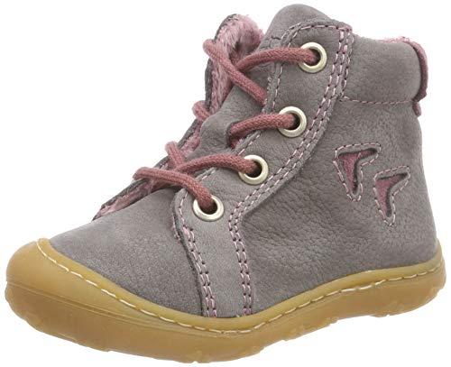 RICOSTA Baby Mädchen Georgie Sneaker, Grau (Graphit/Sucre 457), 18 EU