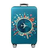 Cover Proteggi Copertura per valigie 18-32 pollici Coperchio per bagagli in fibra di bambù, fibra di carbonio (Color 2, S)