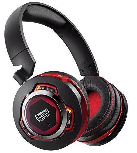 Creative Sound Blaster Evo ZxR Wireless-Headset (Stereo, Bluetooth 2.1, NFC, SBAxx-1-Chip, 3, 5mm Klinkenstecker, USB 2.0) (Zertifiziert und Generalüberholt)