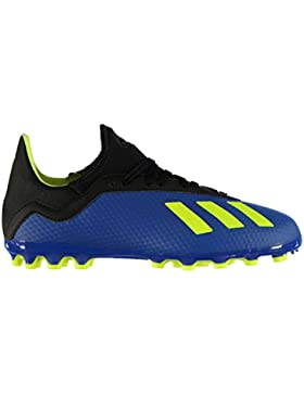 Adidas X 18.3 AG J, Botas de fútbol Unisex niños