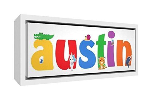 Little Helper Napperon avec Coaster Style Illustratif Coloré avec le Nom de Jeune Garçon Hugo