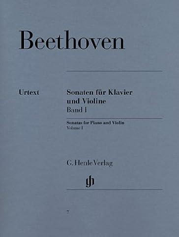 Sonatas for Piano and Violin Vol. 1 - piano and violin - (HN 7)