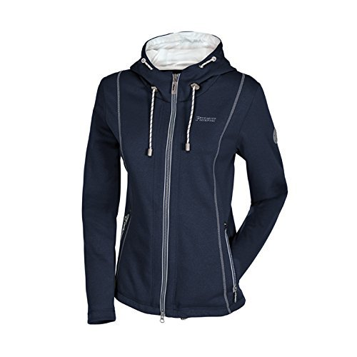PIKEUR Damen Fleece Reitjacke LIUNA, navy, 38